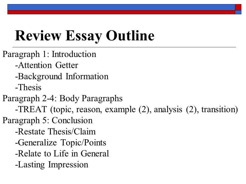 Science Fiction Essays Review Essay Outline Paragraph  Introduction Attention Getter Essays Papers also Health And Fitness Essays Literary Analysis Essay  Ppt Download Example Of A Proposal Essay