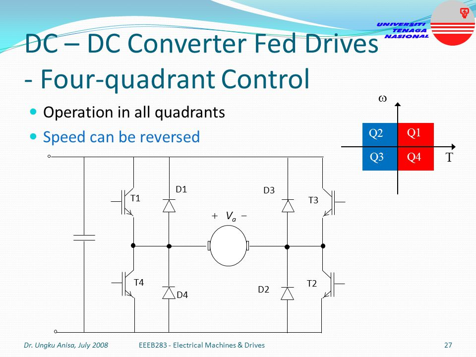 DC+–+DC+Converter+Fed+Drives+-+Four-quadrant+Control  Sd Motor Wiring Control Circuit on simple single phase, made easy,