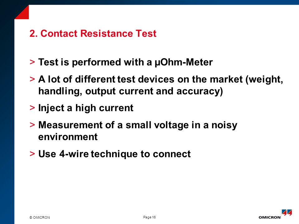 Circuit breaker testing – New Approach - ppt download