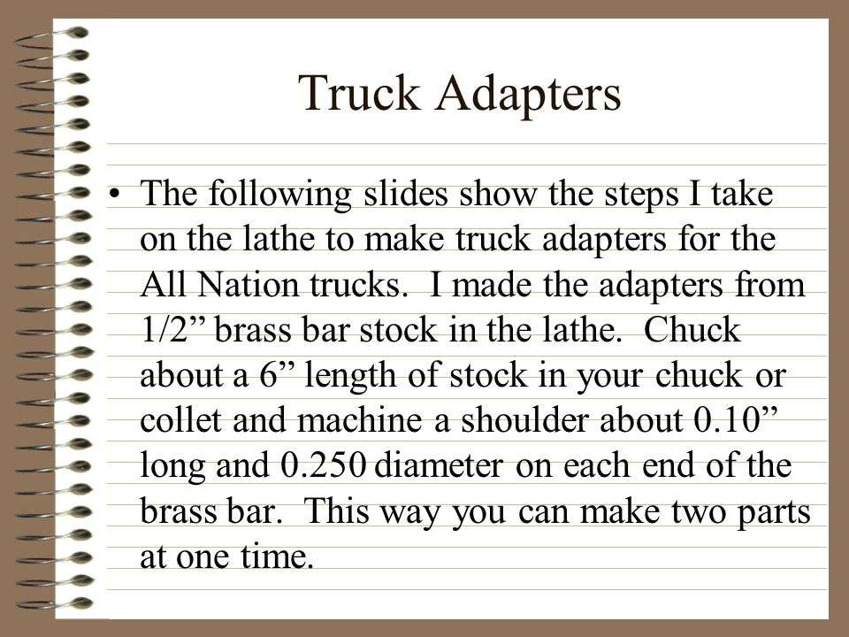 Truck Adapters