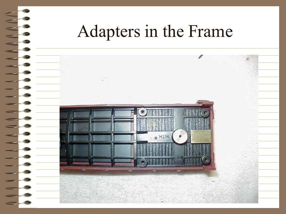 Adapters in the Frame