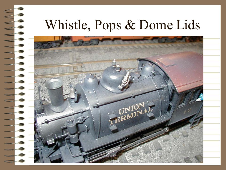Whistle, Pops & Dome Lids