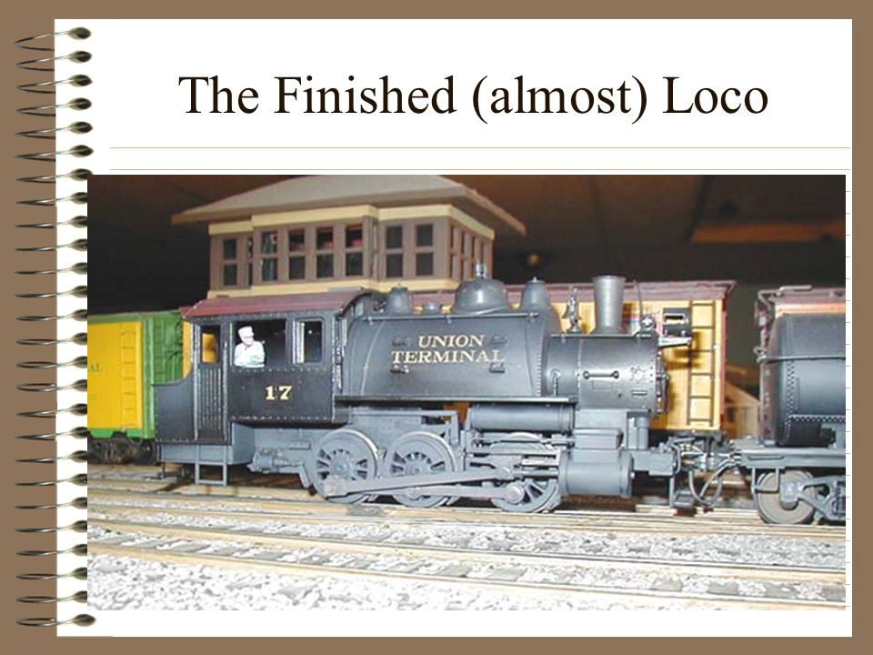 The Finished (almost) Loco