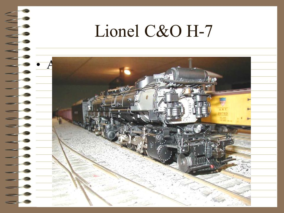 Lionel C&O H-7 Another not so little conversion!