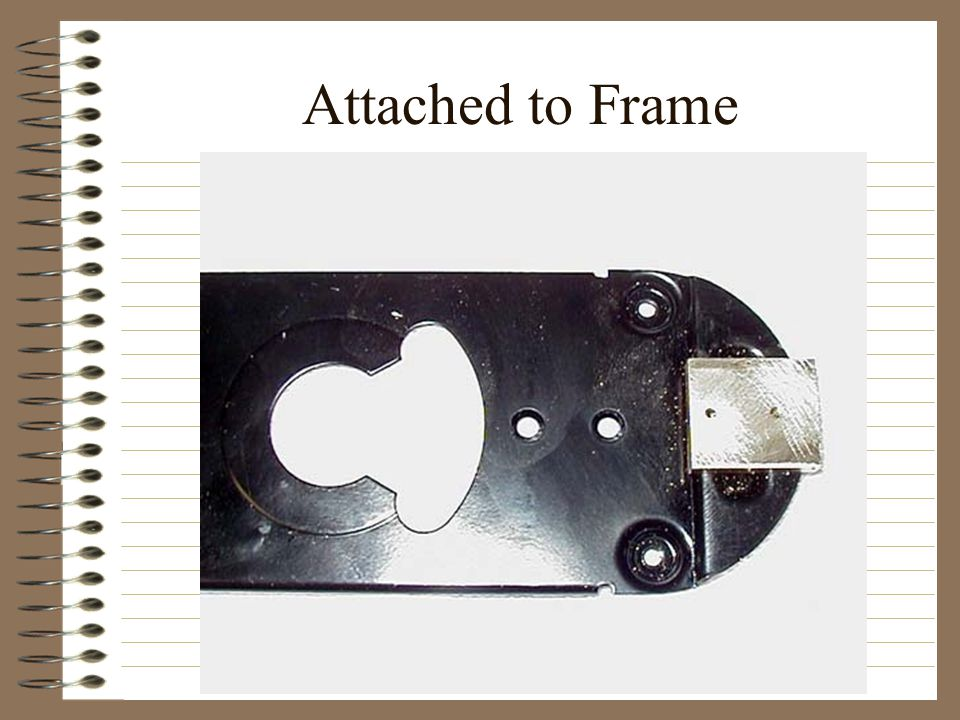Attached to Frame