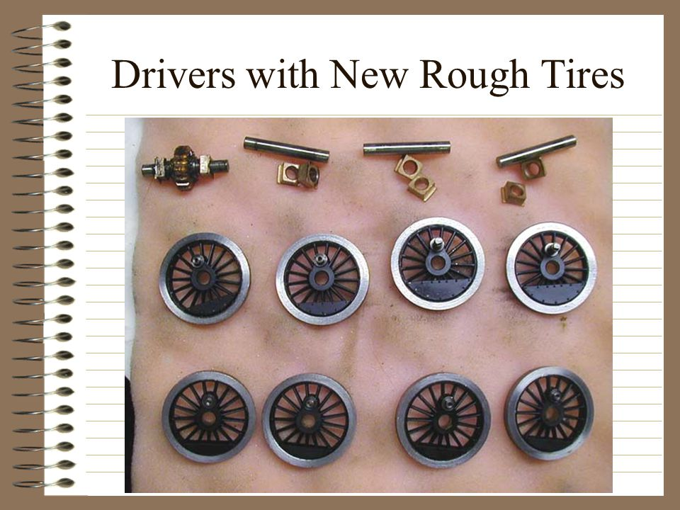 Drivers with New Rough Tires