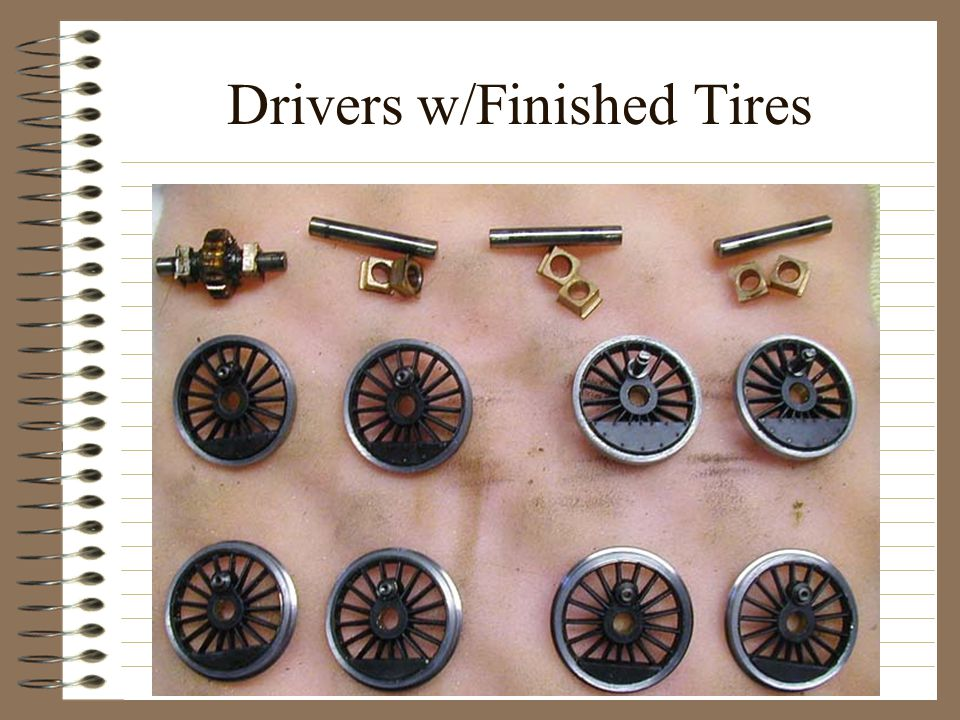 Drivers w/Finished Tires