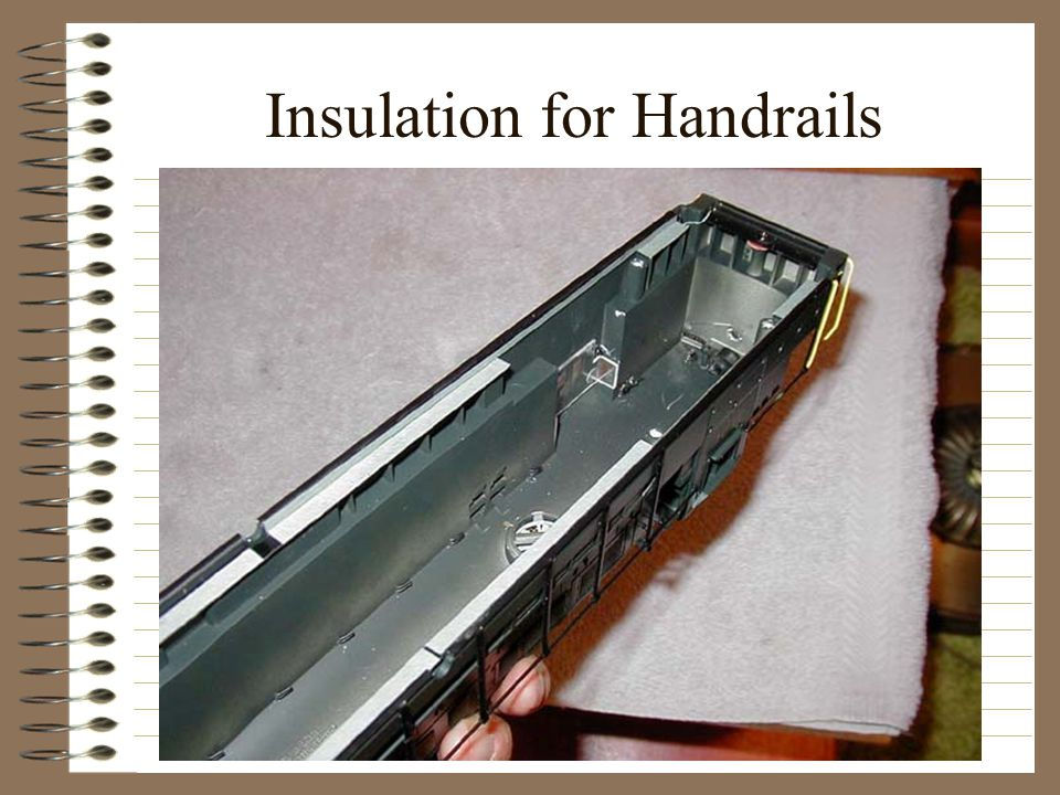 Insulation for Handrails