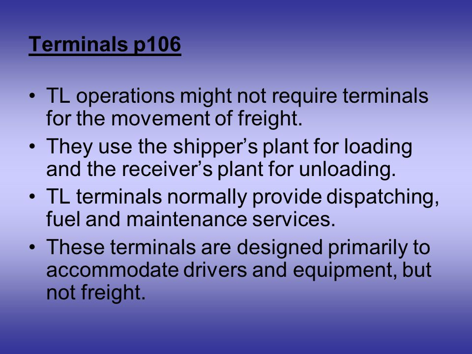 Chapter 3, p96 Motor Carriers  - ppt video online download