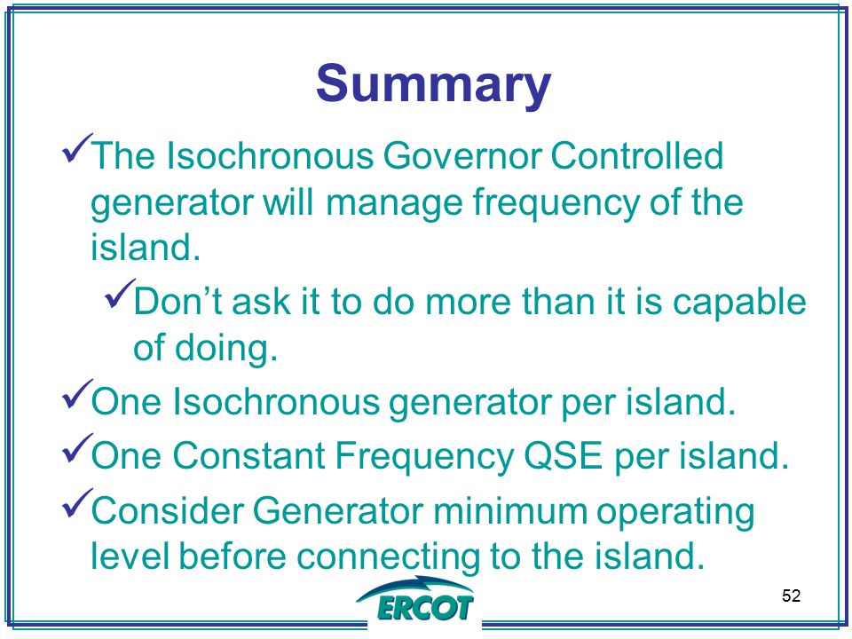 FREQUENCY CONTROL DURING BLACK START OPERATIONS - ppt video online ...