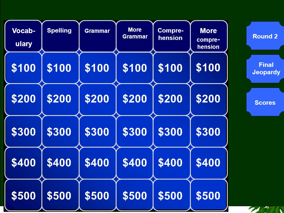 Welcome To Jeopardy Ppt Video Online Download