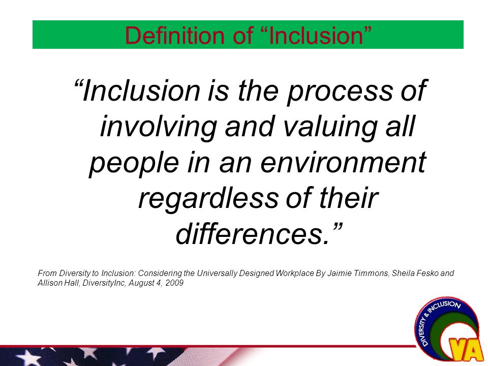Diversity And Inclusion In The Va Workforce New