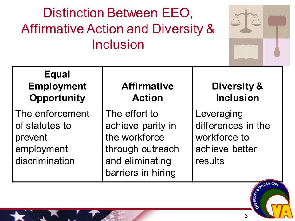 full spectrum diversity vs affirmative action