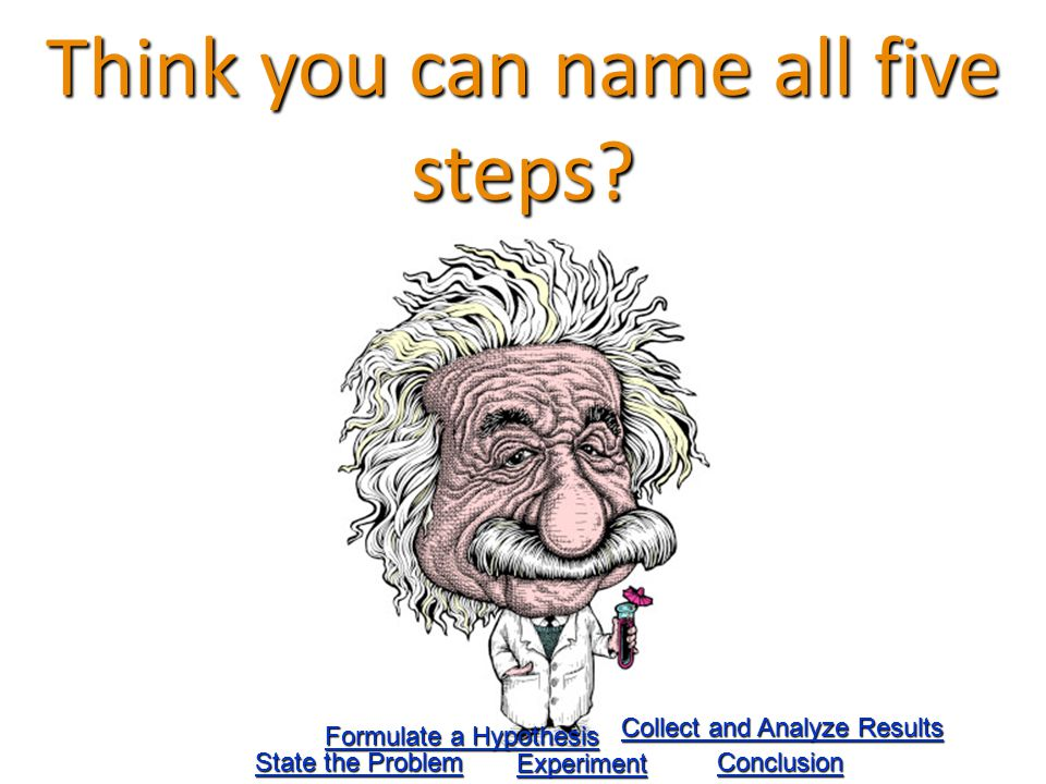 Think you can name all five steps