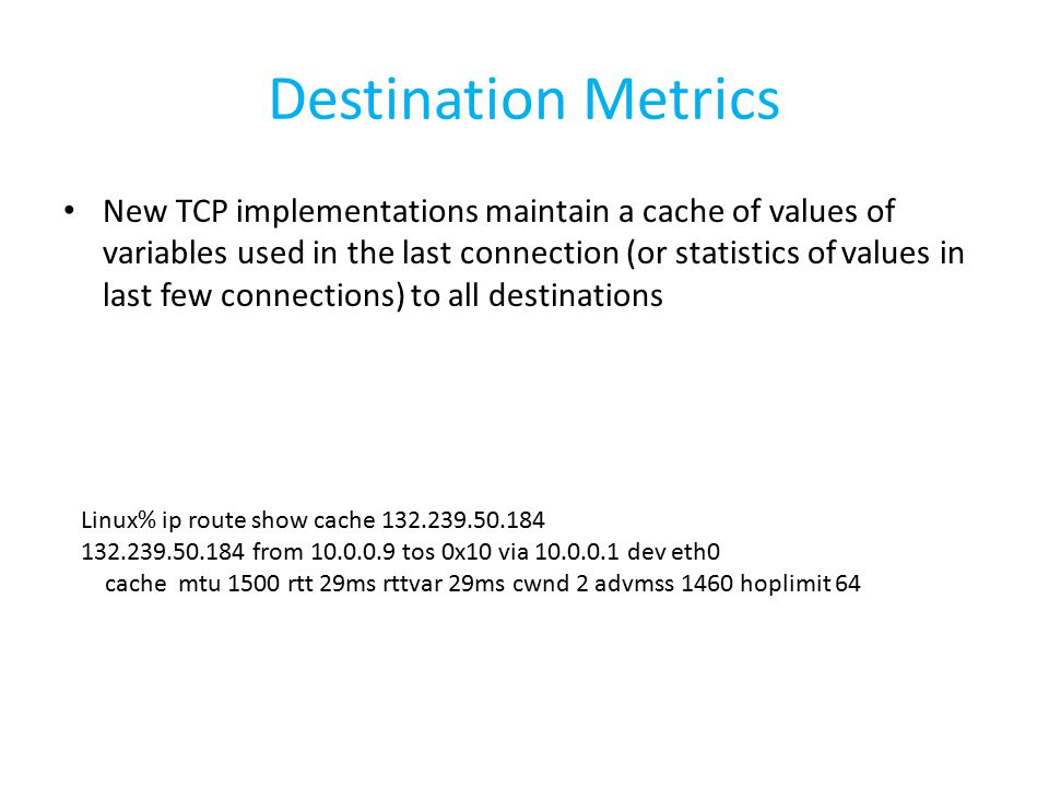 TCP Timeout and Retransmission - ppt download
