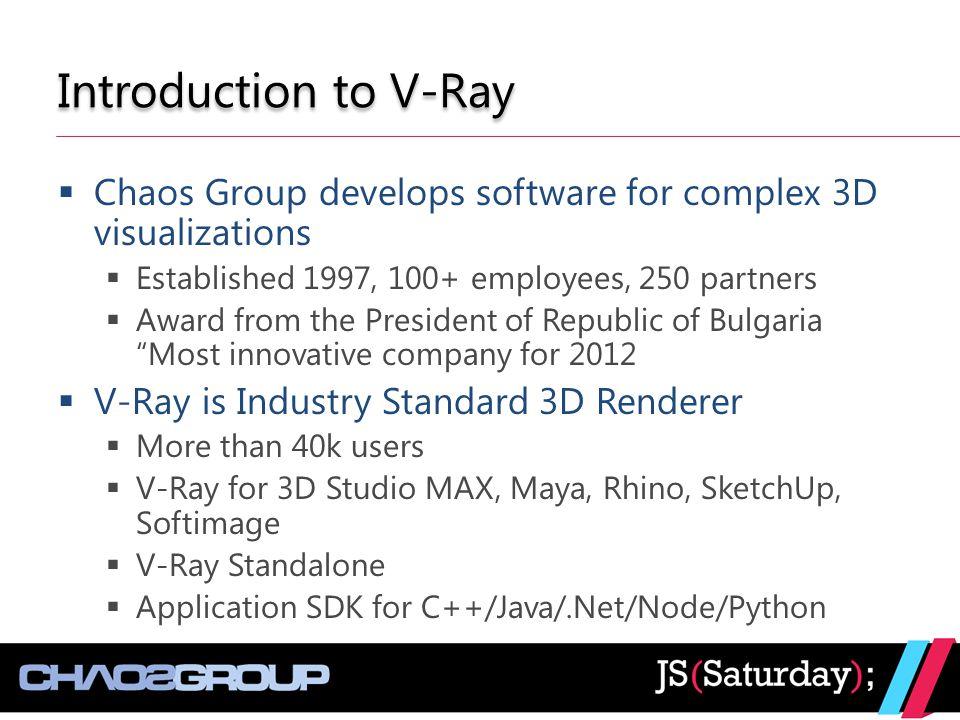 V-Ray Application SDK for Node - ppt video online download
