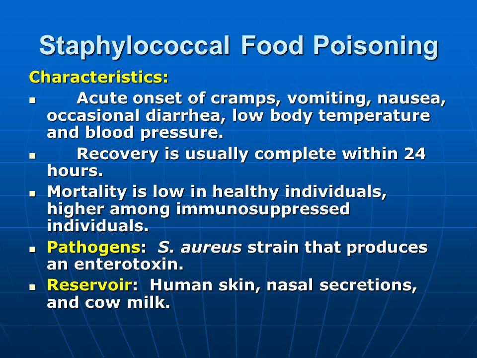 Minor Food Poisoning