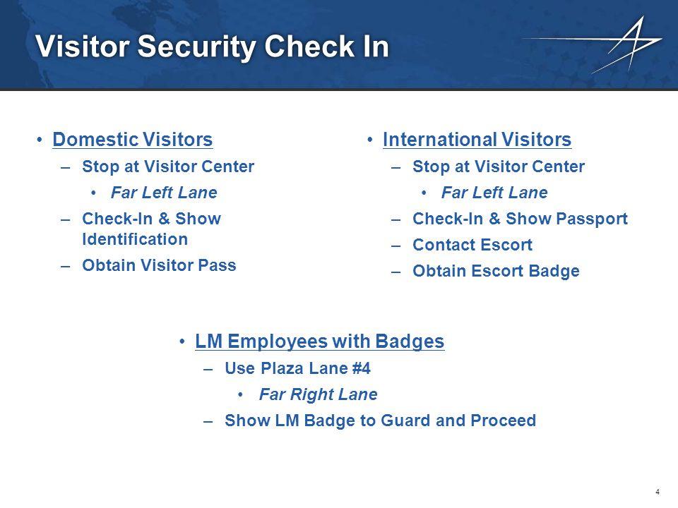 Lockheed Martin TLS Visitor Maps & Directions Orlando, FL
