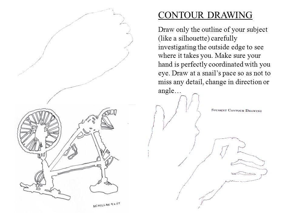 CONTOUR DRAWING
