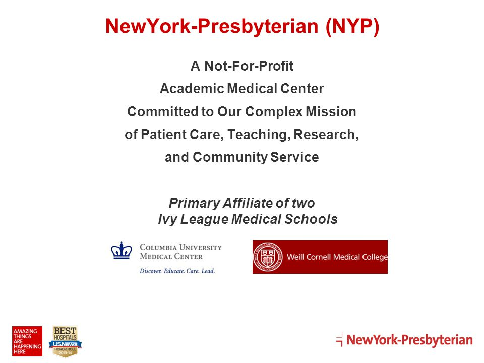 NewYork Presbyterian NYP Ppt Video Online Download