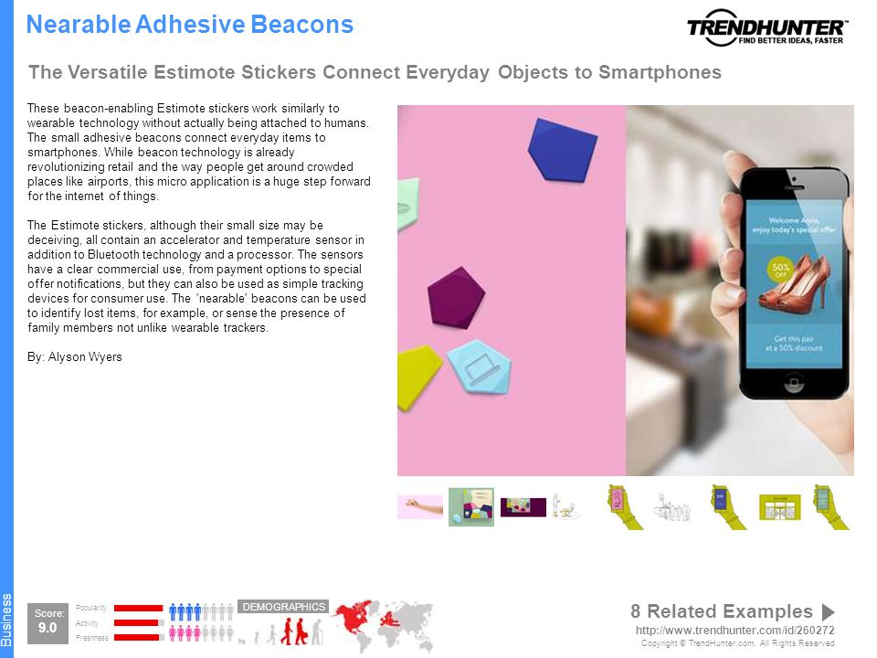 Wearable Tech Sample Report Specialized Spectacle Wearable