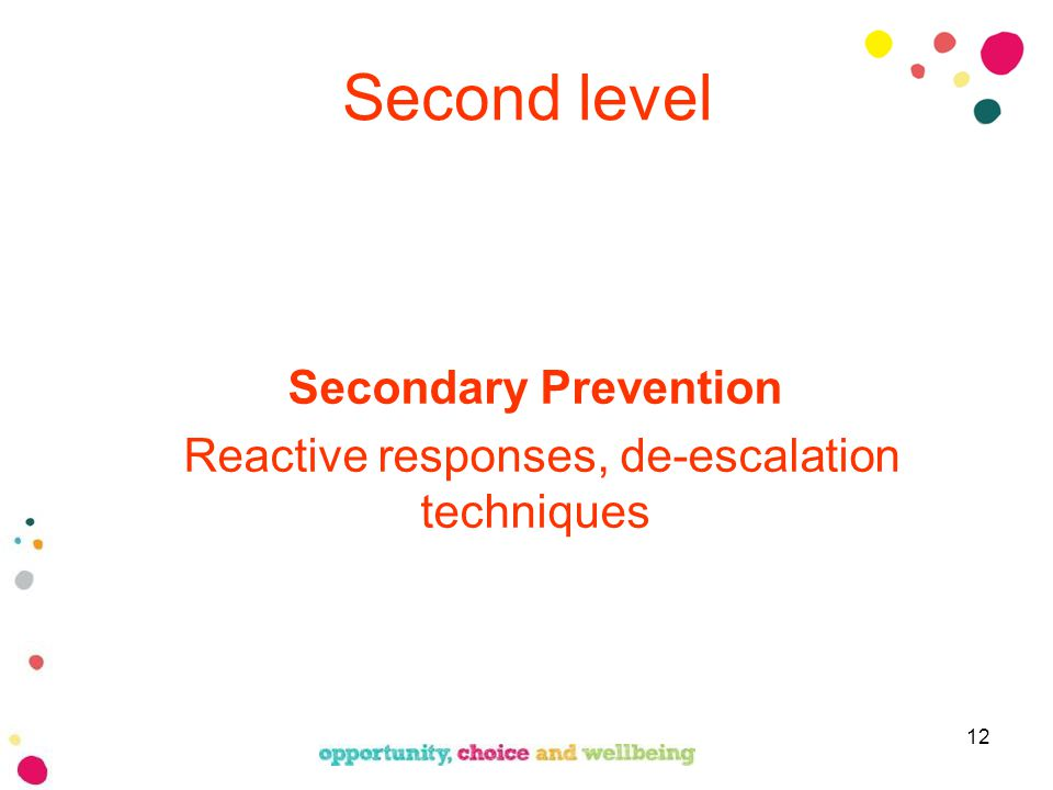Introduction To Understanding Challenging Behaviour Personal Safety