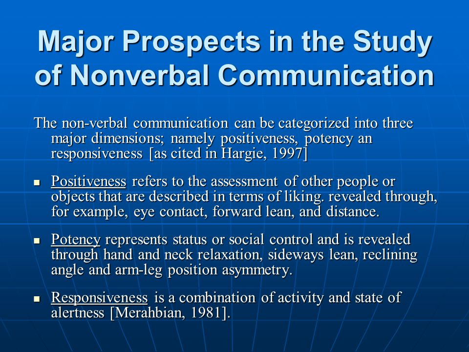 Communication 5 nonverbal examples of 5 Functions