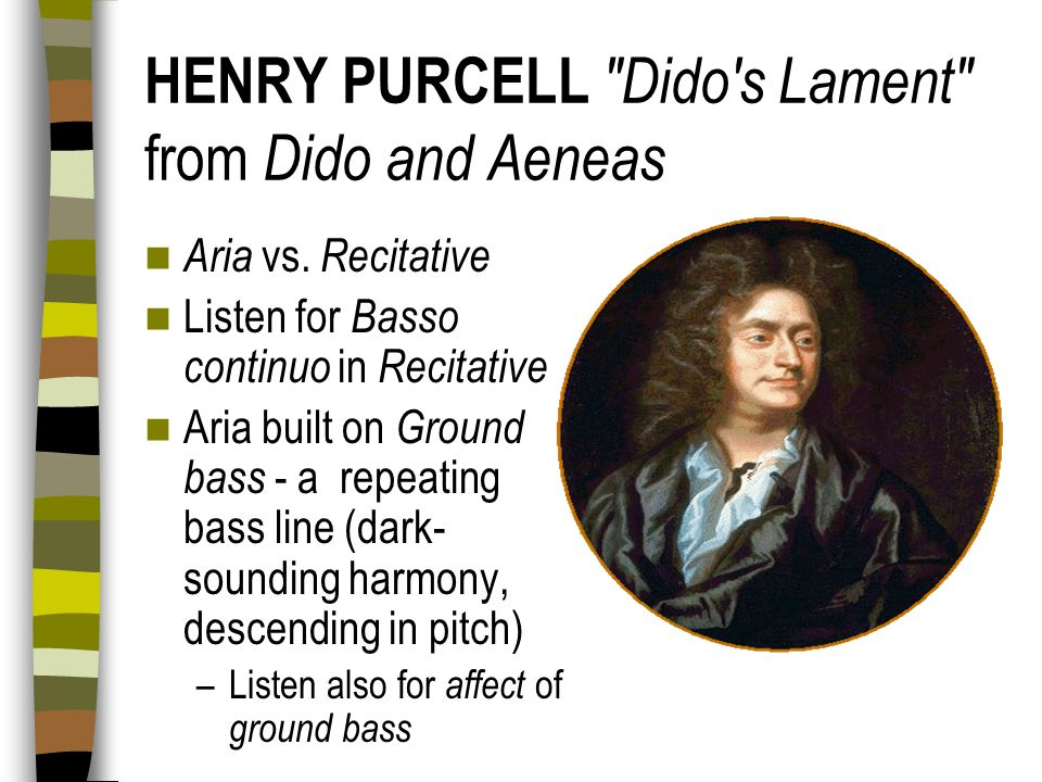 HENRY PURCELL Dido s Lament from Dido and Aeneas