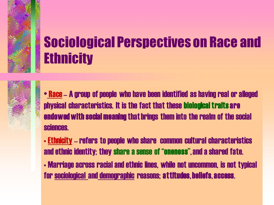 is race biological or social