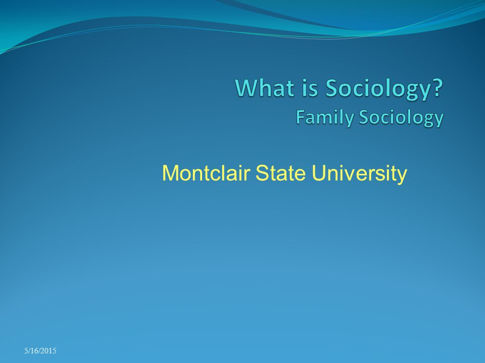 What is Sociology Family Sociology