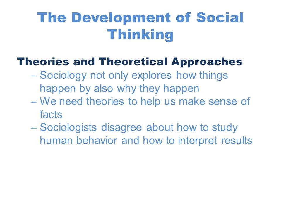 why do we study human behaviour