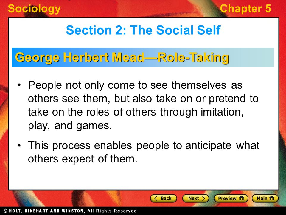 role taking sociology