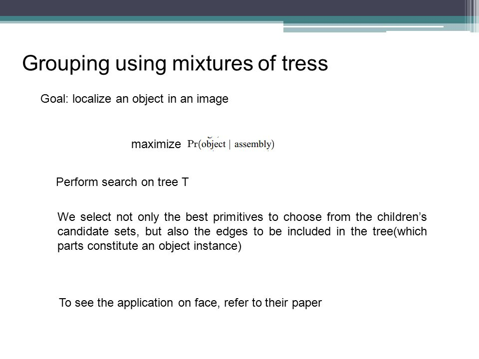 Grouping using mixtures of tress