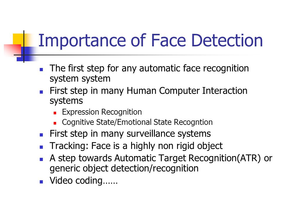 An Introduction to Face Detection and Recognition - ppt