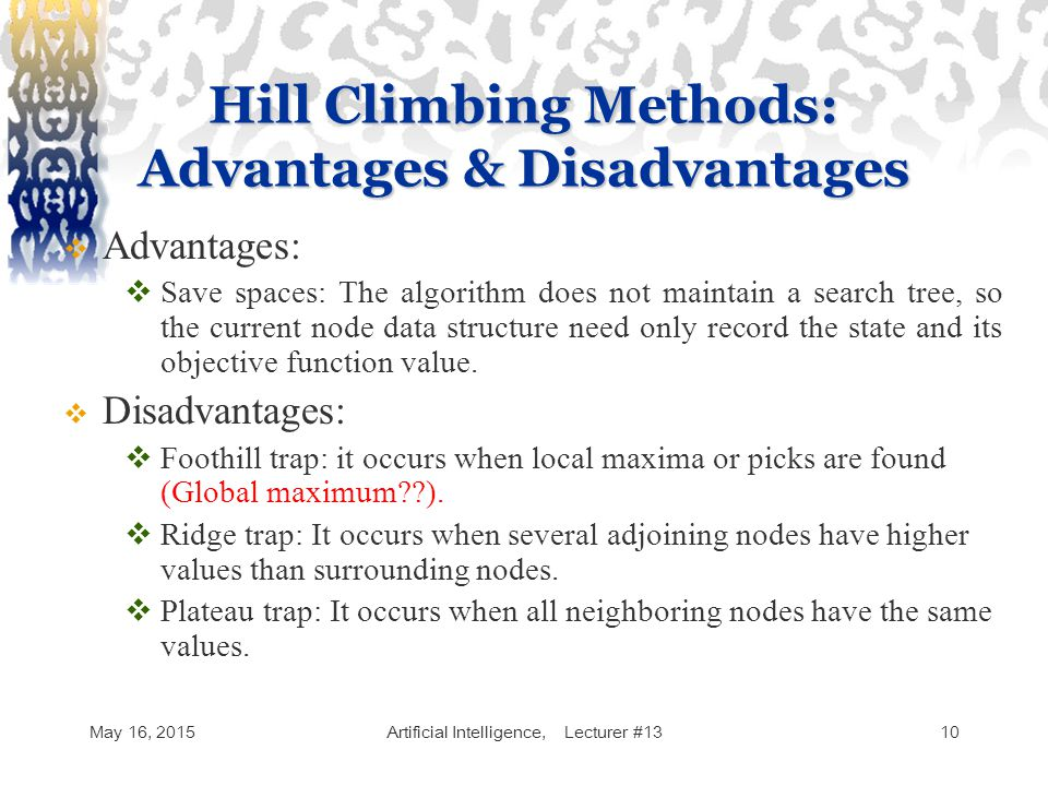 Artificial Intelligence Lecture - ppt video online download