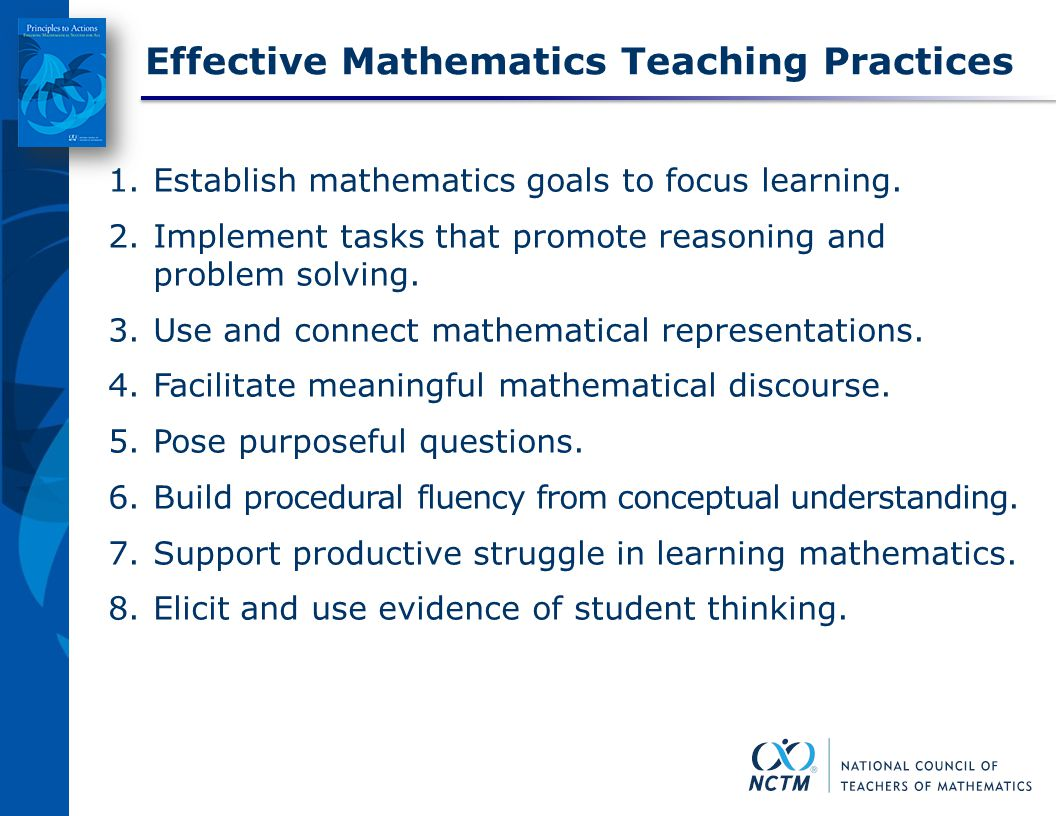 Practices to Actions: Ensuring Mathematical Success for All - ppt ...