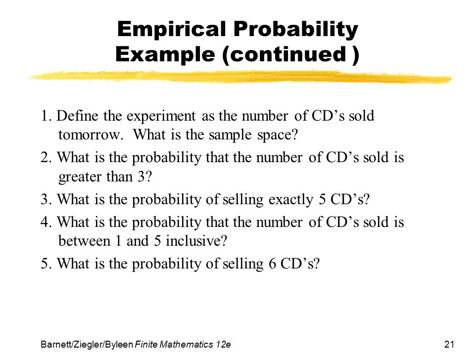 Section 1 Sample Spaces Events And Probability Ppt Download