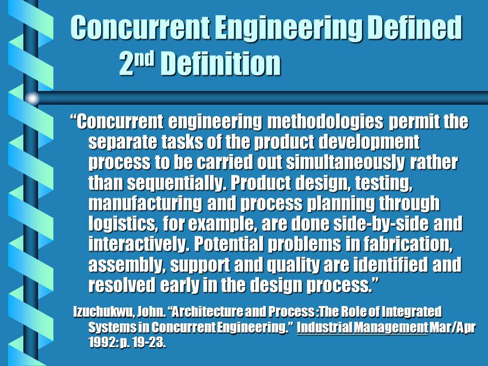 Concurrent Engineering Ppt Video Online Download