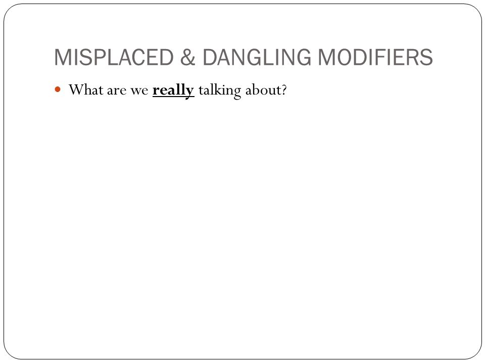 dangling and misplaced modifiers quiz pdf