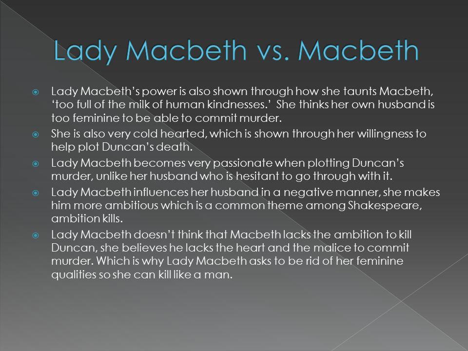 macbeth relationship with lady macbeth