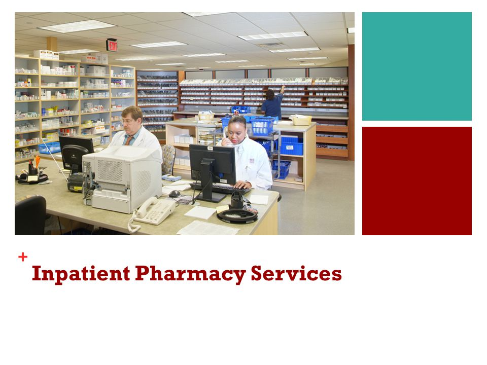 Inpatient Pharmacy Services