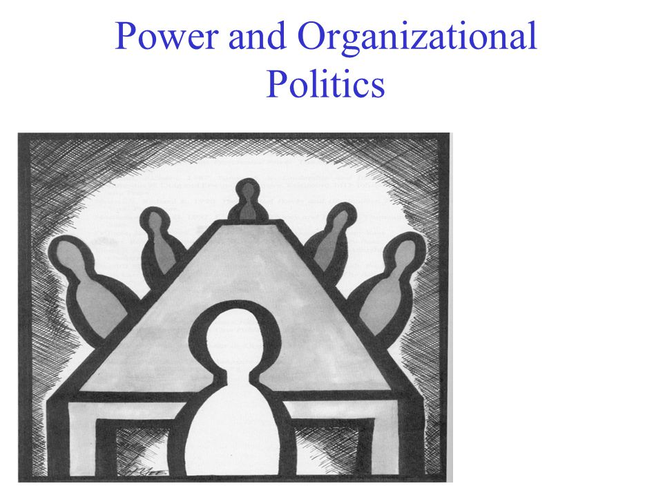 Power And Organizational Politics Ppt Download