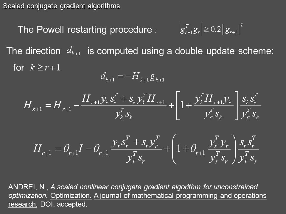 Conjugate Gradient Methods for Large-scale Unconstrained