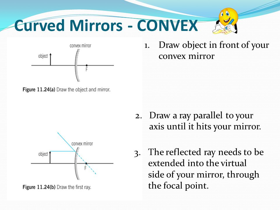 Curved Mirrors - CONVEX
