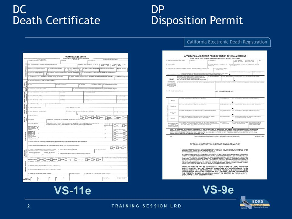 Electronic Death Registration - ppt video online download
