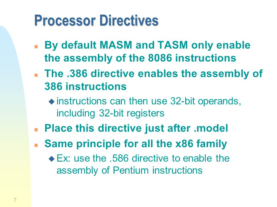 Masm 8086 Assembler Online