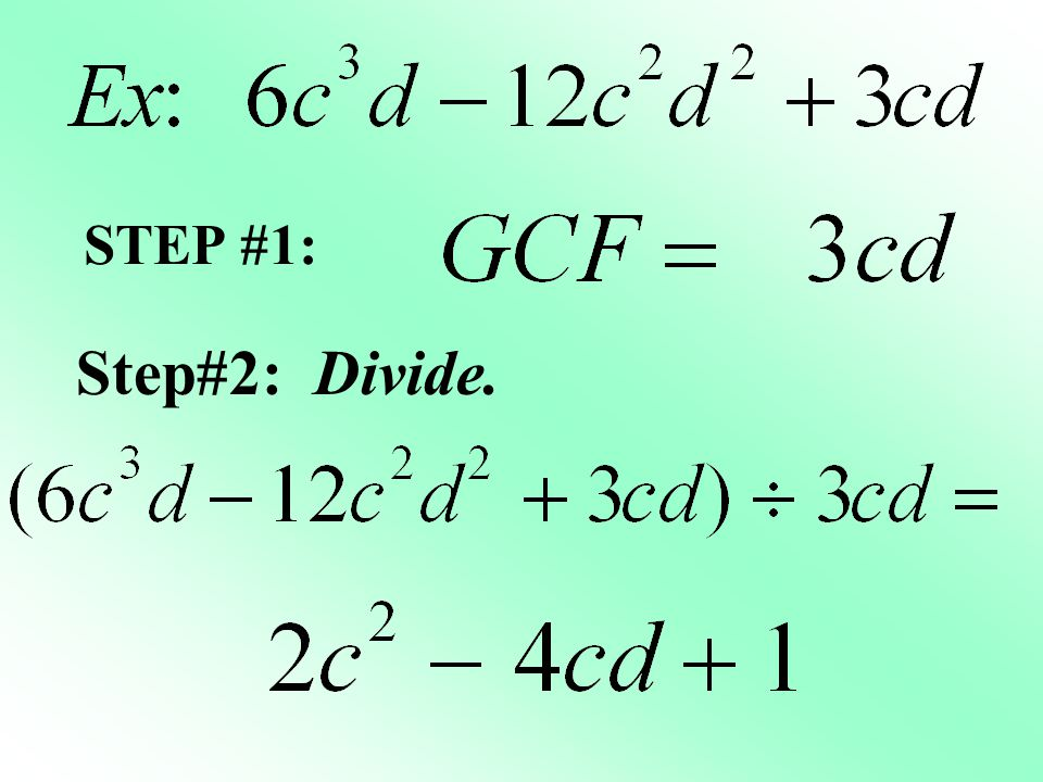 Factoring Polynomials - ppt download