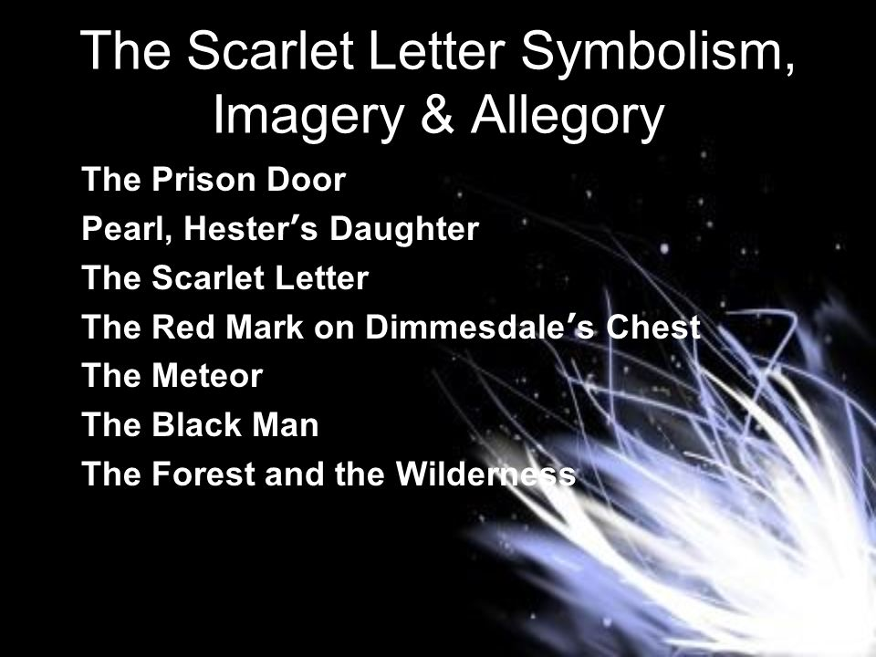 symbolism in the scarlet letter american literature xue ppt 1060