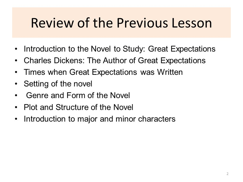 great expectations critical review