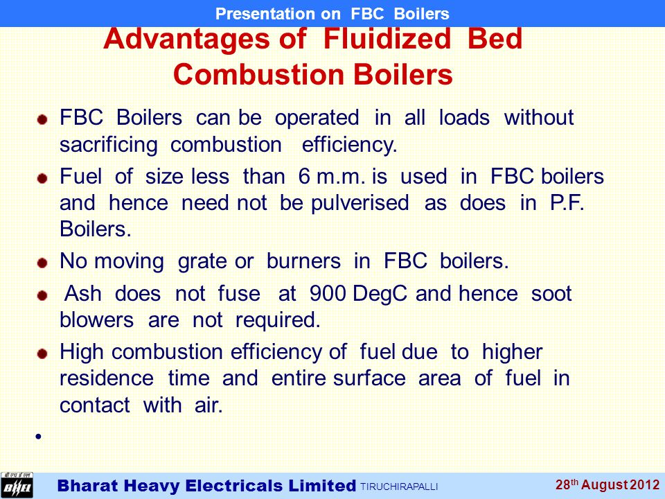 Fluidized Bed Combustion Systems M.RAJAVEL, SDGM / R&D/PCPS - ppt ...